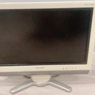 SHARP AQUOSテレビ 20V型