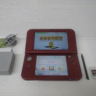 美品 任天堂 ニンテンドー new 3DS LL メタリックレッド