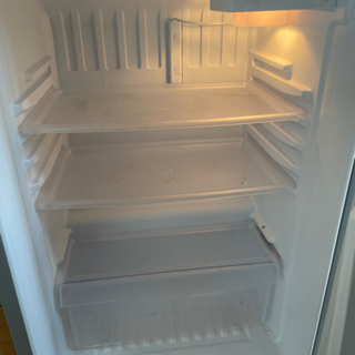冷蔵庫★2015年式★AQUA★AQR-111D(S)★109L★2ドア冷凍冷蔵庫☆右開き アーバンシルバー 耐熱100℃テーブル - 家電