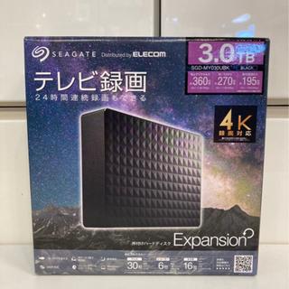未開封 SEAGATE 外付けハードディスク 3.0TB