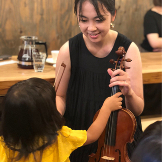 ワクワク楽しみながらバイオリンレッスン・リトミックしてみませんか??