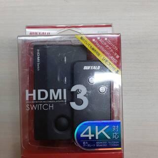 iBUFFALO HDMI切替器 3台用 リモコン付 ケーブルを...