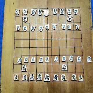 木製 将棋セット(駒と盤)