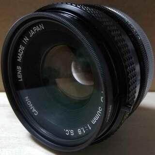 キャノン ◆ カメラ LENS レンズ FD 50mm 1…