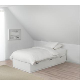 【ネット決済】値下げ交渉⭕️ IKEA ベットフレーム ノールドリ