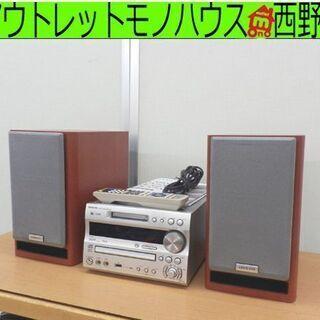 CD・MDコンポ 2009年製 ONKYO/オンキヨー CD/M...