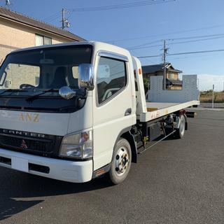 【ネット決済】【走行距離6400km】三菱キャンター 積載車 フ...