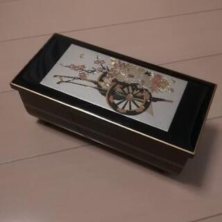 駿河漆器オルゴールボックス