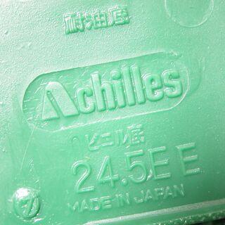 未使用☆Achilles アキレス カラーバレー 52 グリーン2 24.5cm 校内履き・上履き(バレエタイプ) ルームカラー - 靴/バッグ
