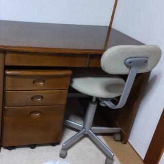 勉強机&椅子 お譲りします