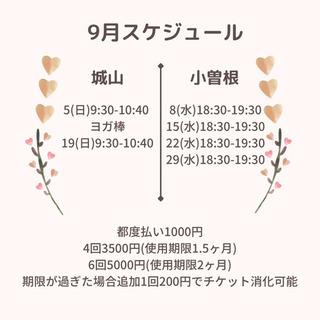 豊中市 城山会/小曽根東会館 ヨガ教室