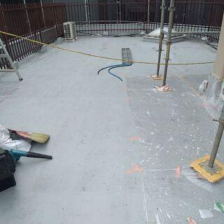 マンション等改修工事での下地補修、防水工