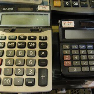 電卓 卓上 電子計算機 各種 CASIO カシオ Canon キヤノン 価格 サイズ 色々 − 北海道