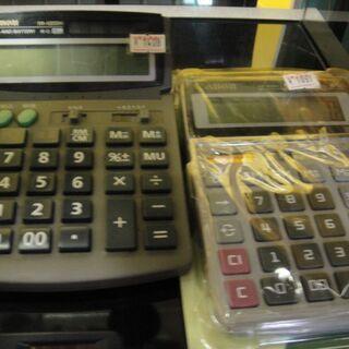 電卓 卓上 電子計算機 各種 CASIO カシオ Canon キヤノン 価格 サイズ 色々 - 売ります・あげます
