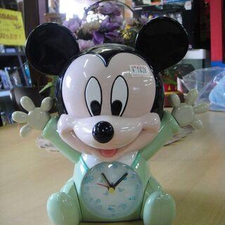 ベビーミッキー 目覚まし時計 DISNEY ディズニー ミッキーマウス