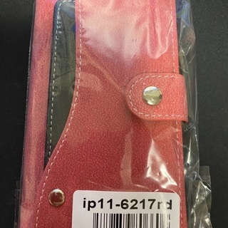 未使用★iPhone11手帳型ケース カード収納 ソフトレザー