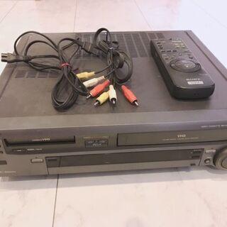 SONY WV-H3 Hi8+VHS デッキ