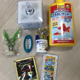 【ネット決済】ロカボーイM、GEXメダカえさ、水温計、テトラ金魚...