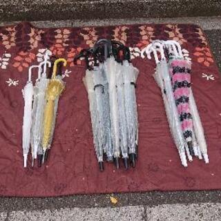 ビニール傘 まとめて500円