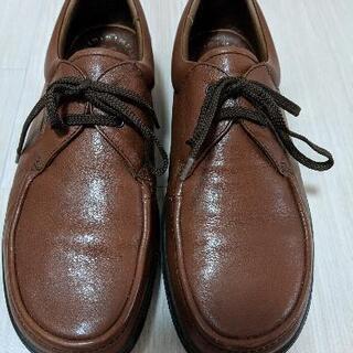 ✨スポルディングの革靴 26㎝(茶色)元値1万➡ ¥1800@調布