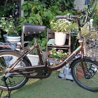 取引中 cyma(サイマ)20インチ自転車の画像