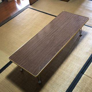 長さ120センチ 会議用テーブル 収納 折り畳み