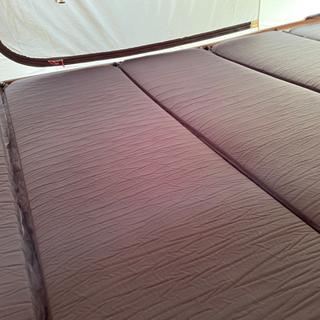 イグニオ 厚型エアー式マットレス キャンプ テントマット …