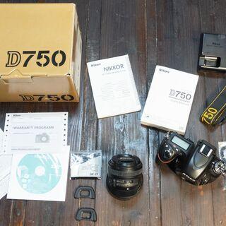 ※値下げ 8万5千円!!! NIKON ニコンD750カメラボデ...