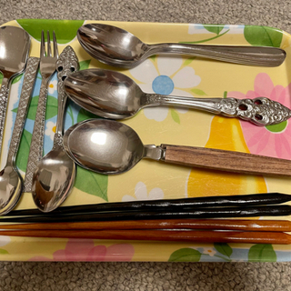 お箸、スプーン、フォークセット