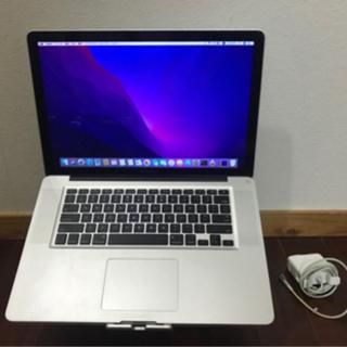 ①【完動品】見やすい15インチ Macbook Pro Inte...