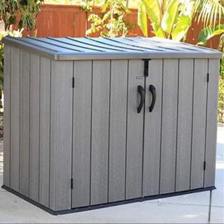 LIFETIME ライフタイム ホリゾンタル 屋外 物置 大容量