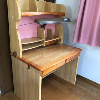 オクモト 学習机 椅子付き