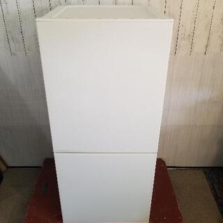 【極上品】 2ドア 冷凍冷蔵庫 110L ツインバード HR-E...