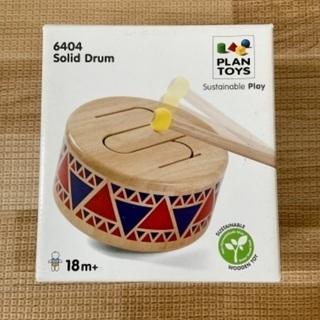 【美品】PLANTOYS ソリッドドラム