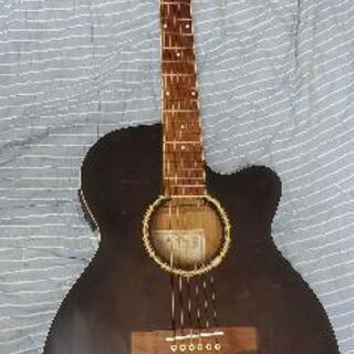 エレアコ Sepiacrue アコースティックギター