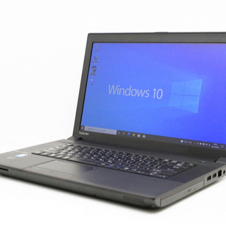 【中古】東芝ノートPC Core i3 15.6型