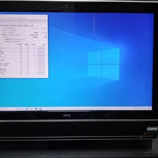 中古 NEC一体型PC*Core-i7*BD-Rドライブ*新品HDD