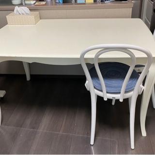 猫足 ダイニングテーブル 椅子なし