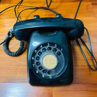 【ネット決済】黒電話機