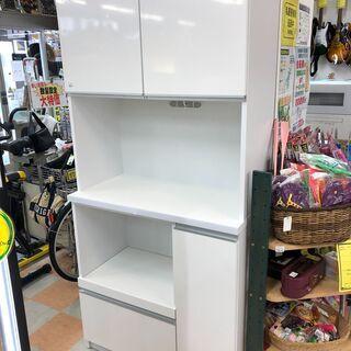 キッチン棚 土井インテリア工業 ホワイト W90 ×H191 ×...