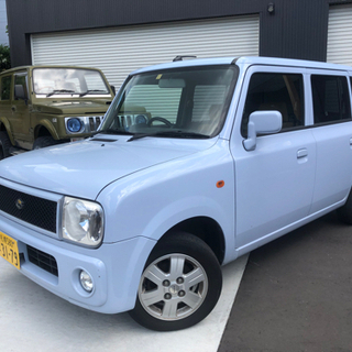 【ネット決済】購入予定者決定 アルト ラパン 4WD ターボ 女...