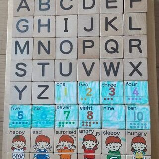 学研のアルファベットつみき