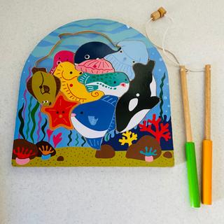 木製パズル 海の生き物 (ed inter・エド インター)