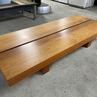 【おしゃれ】木目調 テーブル ベンチ しっかりとした作りで…