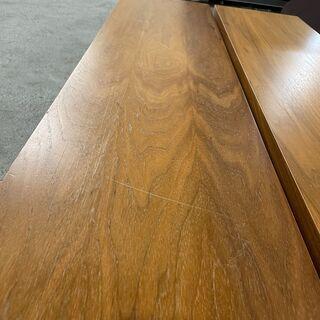 【おしゃれ】木目調 テーブル ベンチ しっかりとした作りで高級感があります 早いもの勝ち! 引取歓迎 配送OK - 売ります・あげます