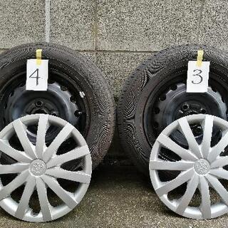 【ネット決済】タイヤ+鉄ホイール