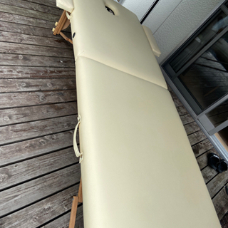 【中古】サロン エステ 折り畳みベッドの画像