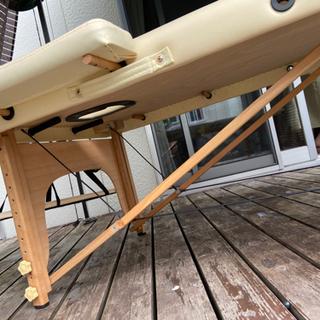 【中古】サロン エステ 折り畳みベッド − 鳥取県