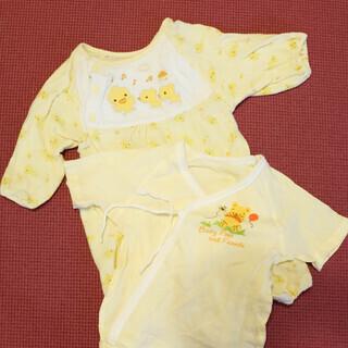 <50-60cm>黄色いインナーとカバーオールのセット