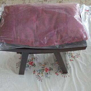 【売ります】 ガッチリした木製椅子   ●重く、しっかりし…